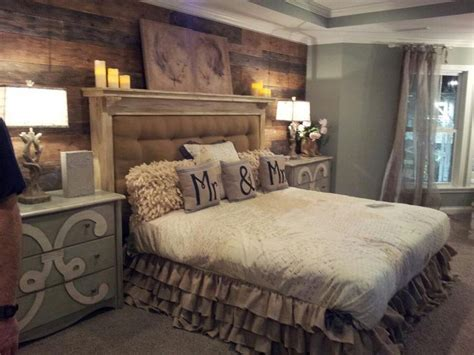 rustic country bedroom decorating ideas image result for tv wall farm rustic country master