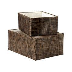 Closet Storage Baskets by 1000 Images About Linen Closet Organization Baskets
