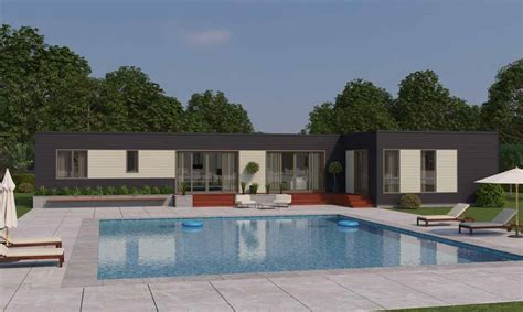 L Shaped Houses by Blu Homes Launches 16 New Prefab Home Designs Including