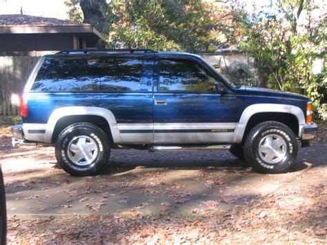 1996 2 Door Tahoe For Sale by Marshall12802 1996 Chevrolet Tahoe Specs Photos