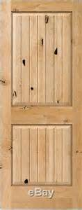 8 Panel Interior Wood Doors by Knotty Alder 2 Panel Square V Groove Raised Solid