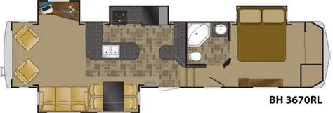 bighorn 5th wheel floor plans 2011 heartland bighorn 3670rl fifth wheel tulsa ok rv for sale rv details new and used