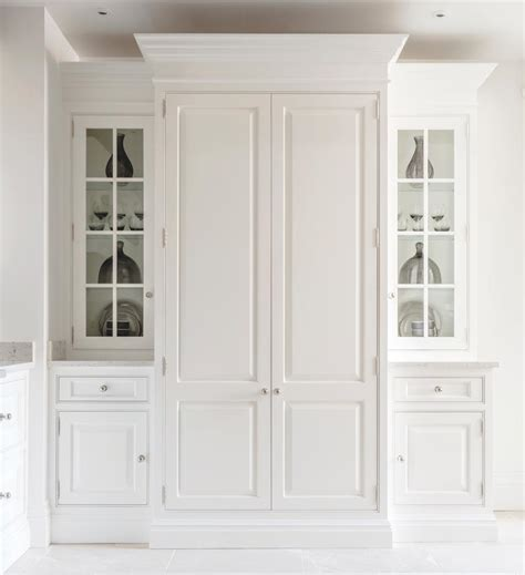 handpainted pantry with custom made oak
