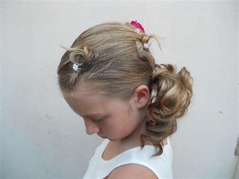 le chignon enfant chignons enfants 15 ans chez l oxy coup coiffeuse 224 domicile l oxy coup