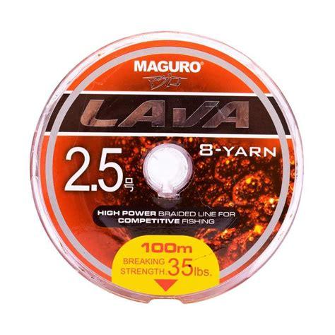 jual maguro lava pe senar pancing 100m size 2 5 ukuran