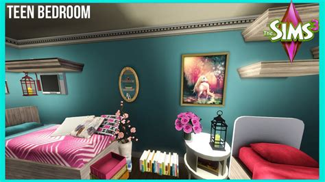 pretty teenage girl bedrooms the sims 3 big teen girl bedroom youtube