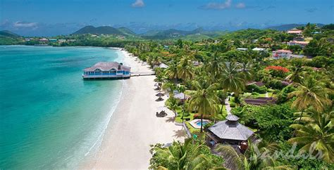 st lucia all inclusive sandals sandals halcyon starward vacations llc