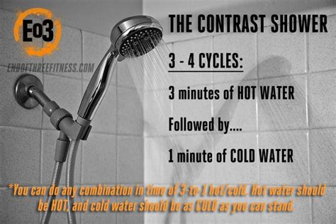What Is A Cold Shower by Benefits Of Contrast Showers And Cold Showers