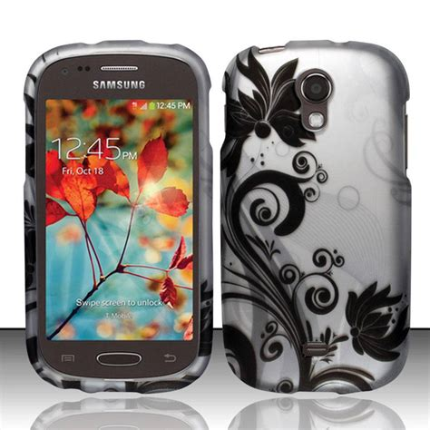 for samsung galaxy light sgh t399 rubberized