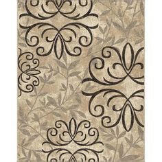 Better Homes And Gardens Iron Fleur Area Rug by Better Homes And Gardens Iron Fleur Area Rug Beige