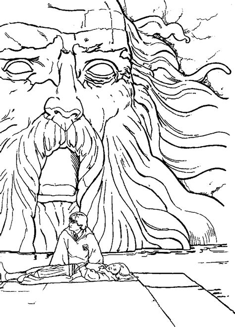harry potter basilisk coloring pages free coloring pages of harry potter ausmalbild