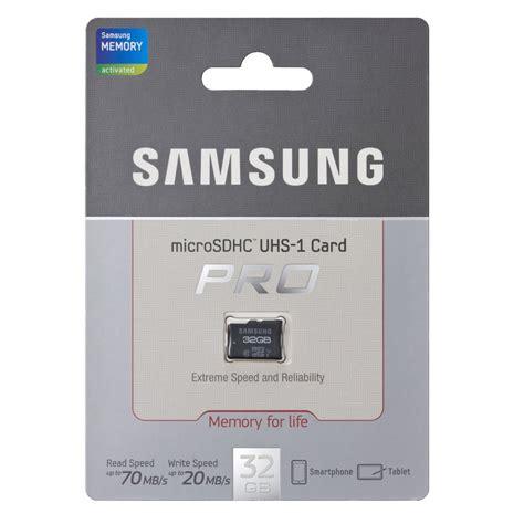 Pro 32gb samsung microsdhc pro uhs i class 10 70mb s mb mg black jakartanotebook
