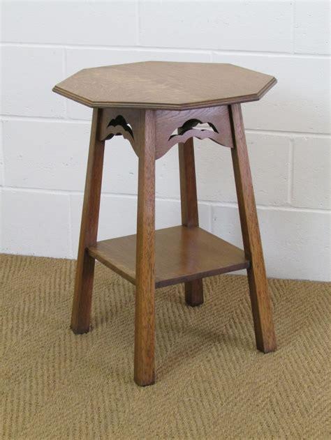 Oak Side Table Arts Crafts Oak Occasional Side Table 278034 Sellingantiques Co Uk