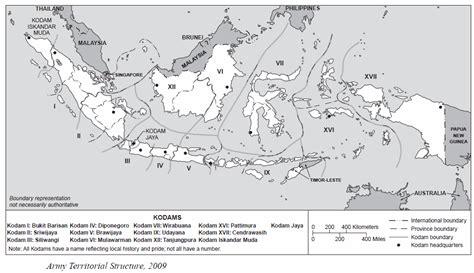 kodam military regional commands