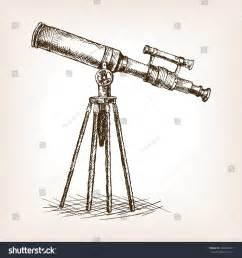 old telescope pop art style raster stock illustration 386397907 shutterstock