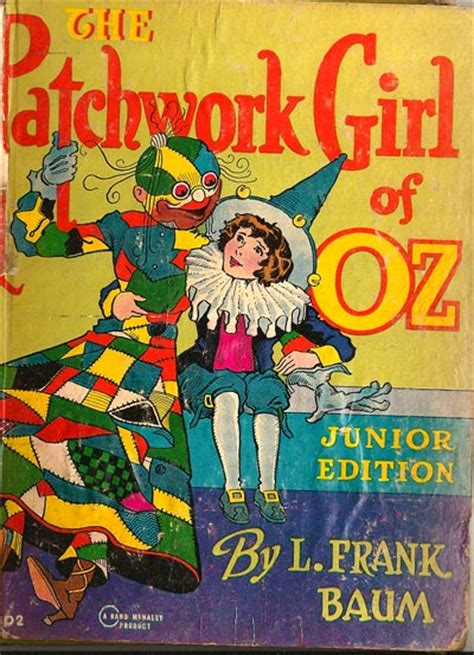 The Patchwork Of Oz - the patchwork of oz illustrated by r neill