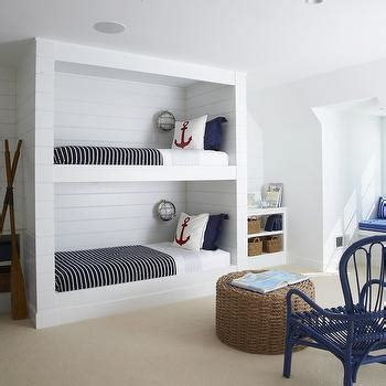 built in bunk beds cottage boy s room hickman design shared boys room cottage boy s room new england home