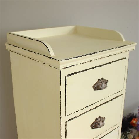slim chest of drawers uk antique white slim chest of drawers melody maison 174