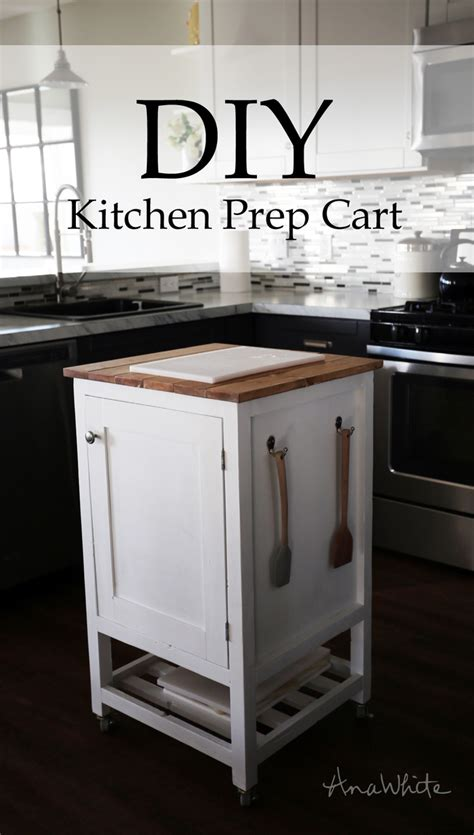 white how to small kitchen island prep cart with compost diy projects