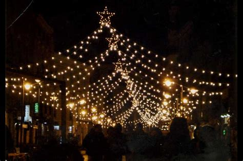 illuminazione natalizia salerno attualit 224 di natale a pescara luminarie in sedici