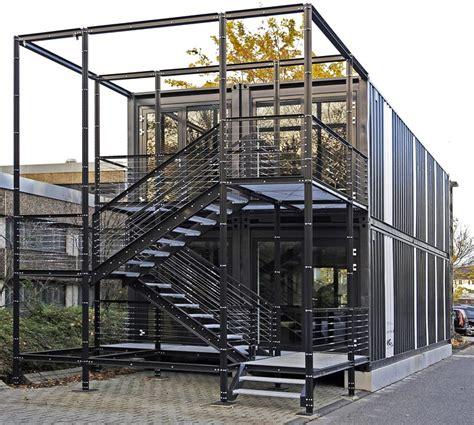 bauen mit containern container der hochsee zur hochschule f 252 r