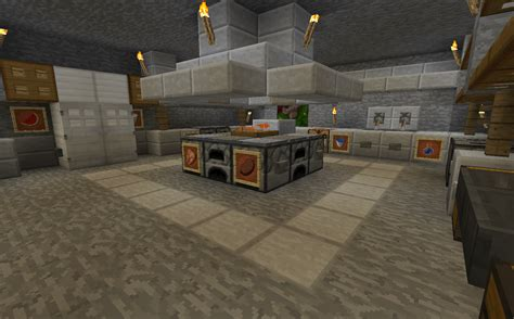 kitchen minecraft minecraft projects minecraft kitchen with functional