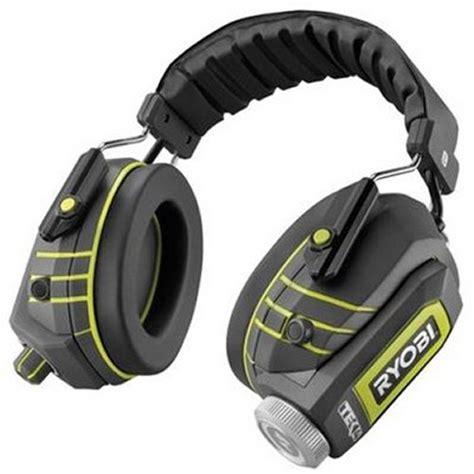rugged headphones ryobi rugged water resistant headphones slipperybrick