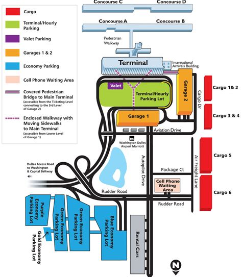 iad airport map dulles airport map my