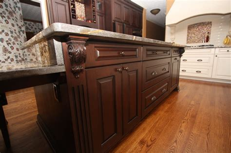 kitchen island custom custom kitchen island traditional kitchen cleveland