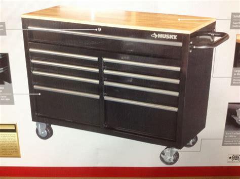 chelsea montgomery bench fucked husky tool bench husky 46 in 9 drawer mobile workbench