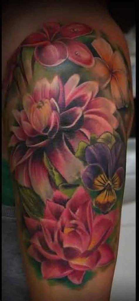 3d flower tattoo designs 25 best 3d flower tattoos ideas on pink