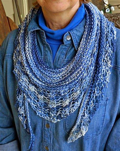 knitting pattern for gallatin scarf spinning memories knitting love light airy the