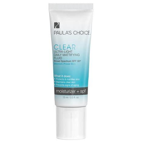 paula s choice clear ultra light daily fluid spf 30 paula s choice clear ultra light daily mattifying fluid