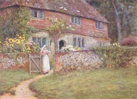 Cottage Plan helen allingham album photos le cottage de gwladys