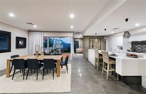 galley kitchen designs adelaide galley kitchen in open plan living the rawson in vogue display modern living room