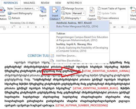 daftar pustaka format mla dan apa tutorial singkat membuat daftar pustaka referensi otomatis