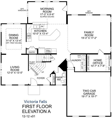 rome ryan homes floor plan house plan victoria falls first floor with selected