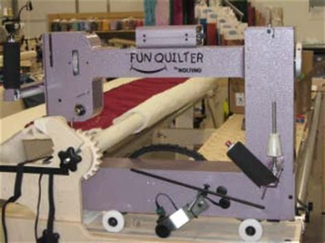 Hinterberg Machine Quilting Frame by Nolting Machines