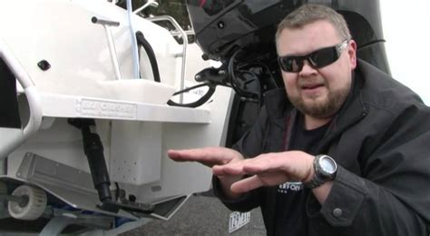 what are trim tabs on a boat trim tabs explained on a boat youtube