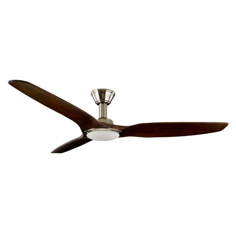 dc ceiling fan with light trident dc ceiling fan high airflow led light satin