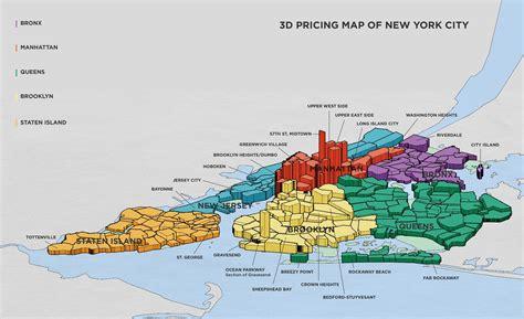 map of new york and manhattan quartieri di new york i pi 249 famosi ed i pi 249 pericolosi