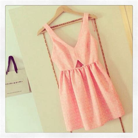 Sweet And Girly Shorts by Dress Pink Cut Out Pink Dress Girly Sweet
