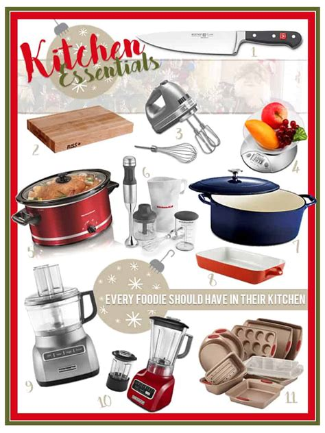 21 kitchen essentials a gift guide from food bloggers saucy pear holiday gift ideas for the foodie in your life the