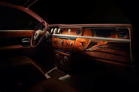 interior rolls royce rolls royce travel phantom gets fancy woodwork