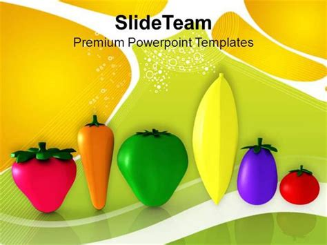 vegetables good for health nutrition powerpoint templates