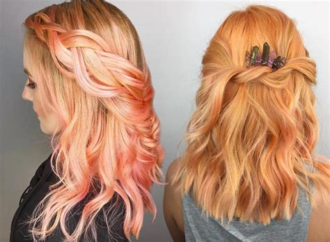 pretty colors to dye hair 26 pretty hair color ideas how to dye your hair