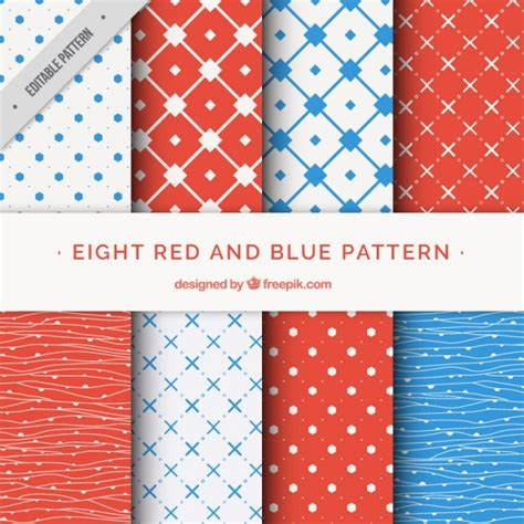 editor design pattern assortment of abstract patterns vector premium download