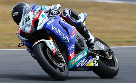 Motorcycle Apparel Phillip Island by Results From Day 1 Of World Superbike Testing At Phillip