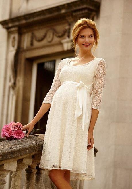 Umstandsmode Brautkleid by Umstandsmode Kleid Standesamt
