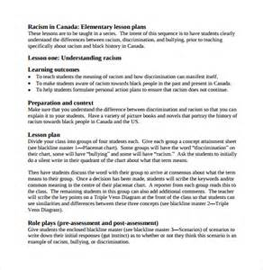elementary lesson plan template sle elementary lesson plan 8 documents in pdf